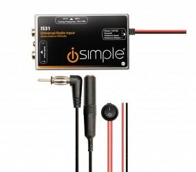 Bluetoothオーディオレシーバー 【I simple  ISBT23】